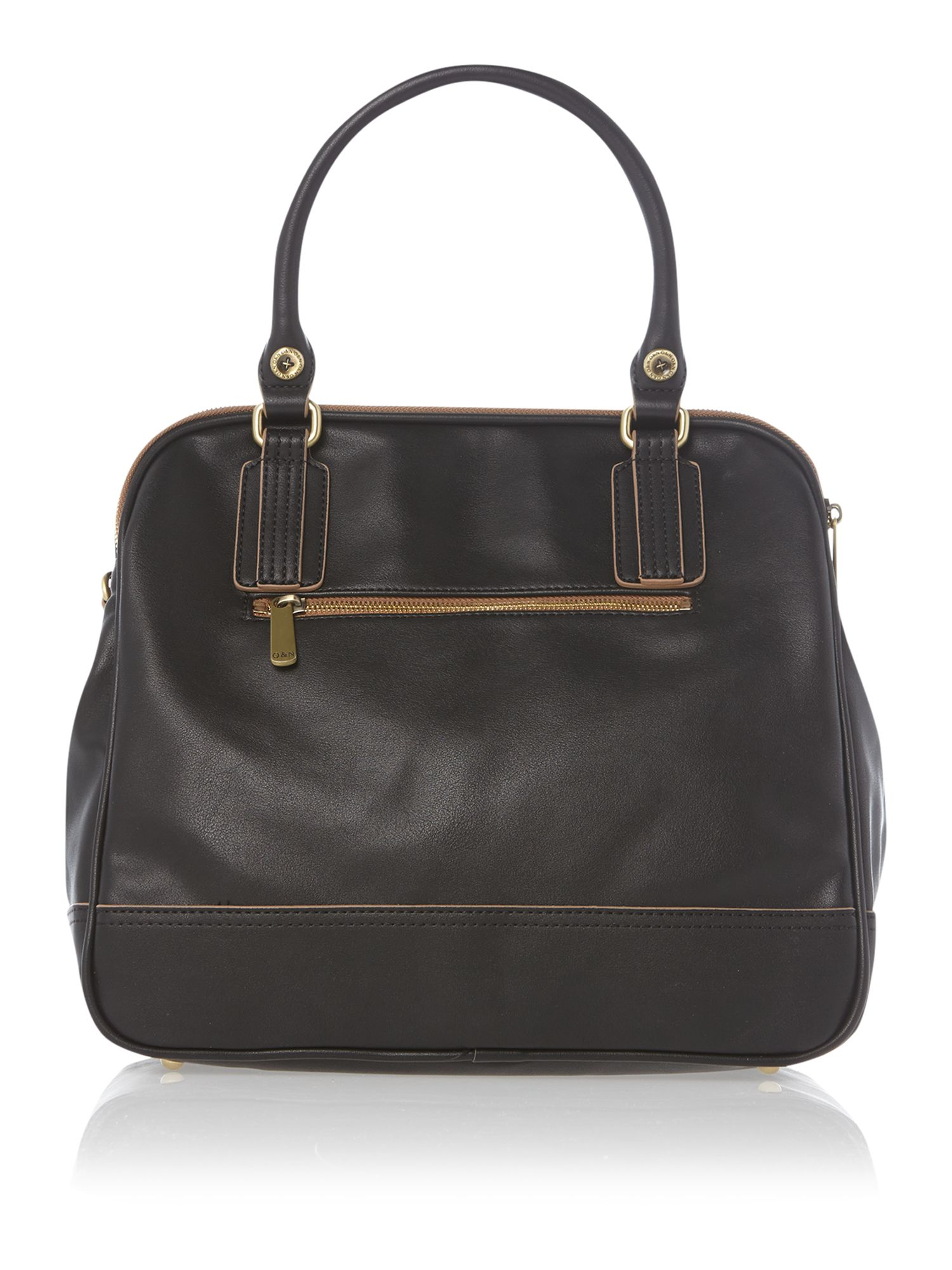Leanne black dome bag