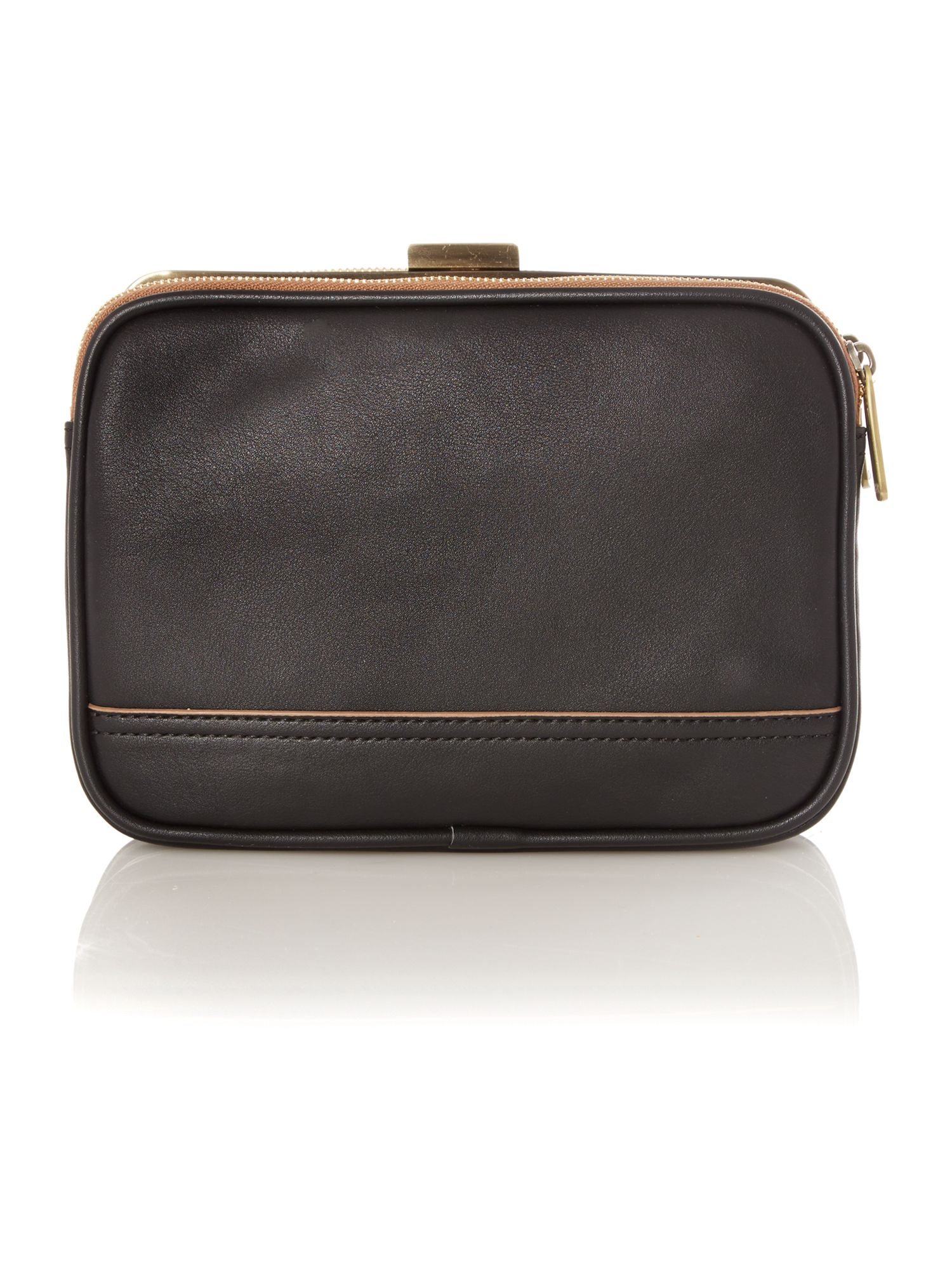 Leanne black crossbody bag