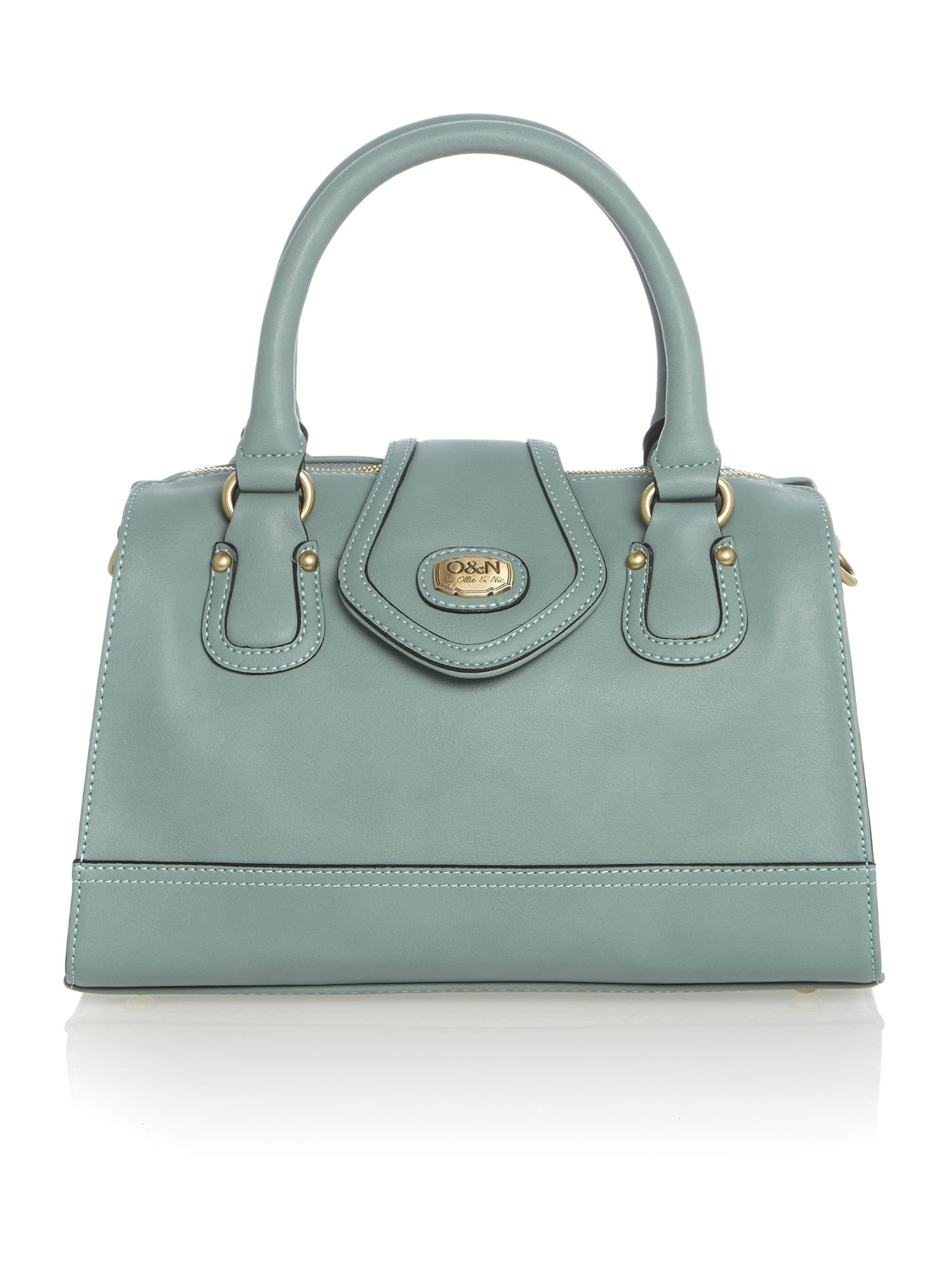 Corinne blue tote bag