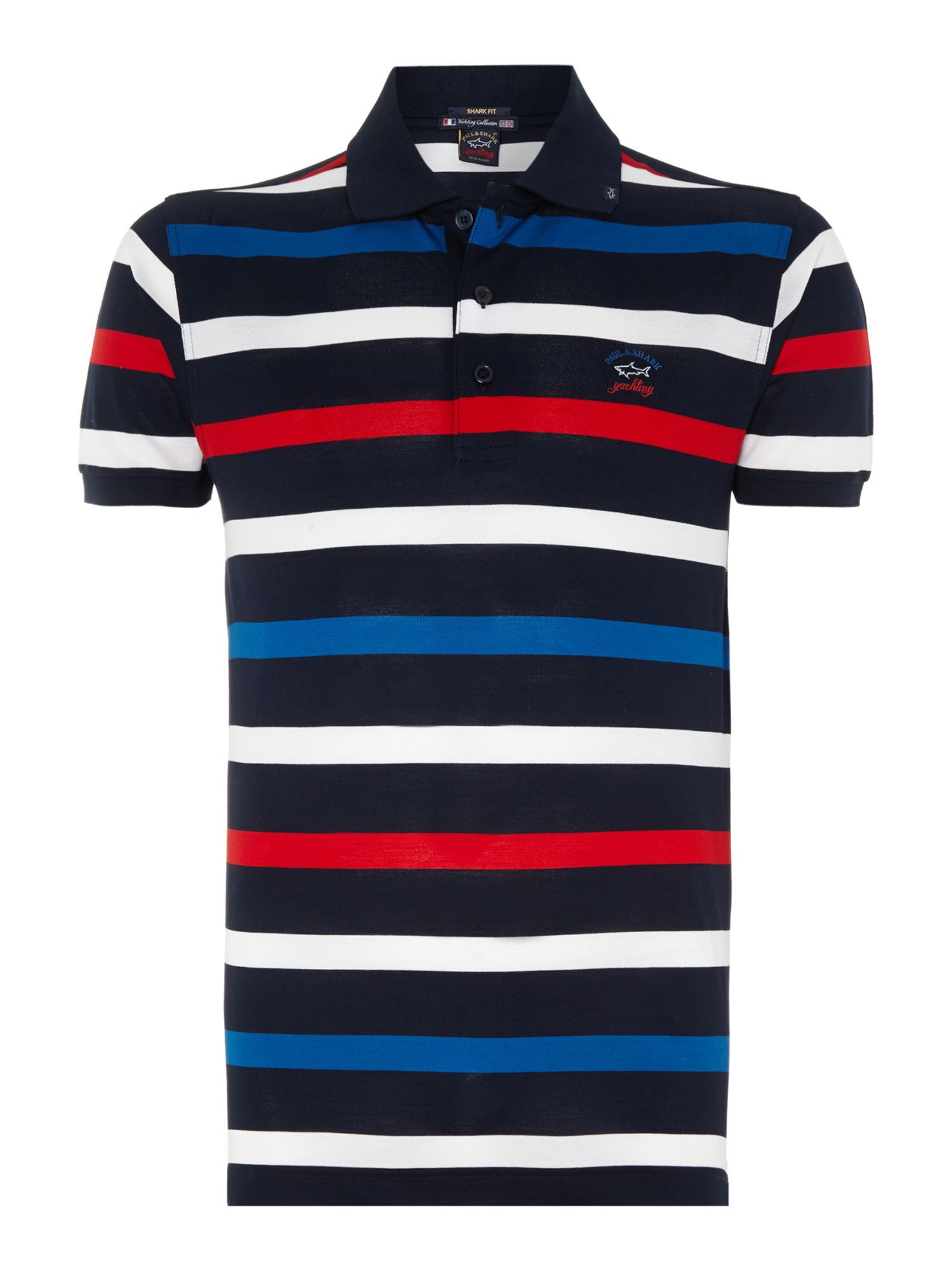 Mutli stripe polo