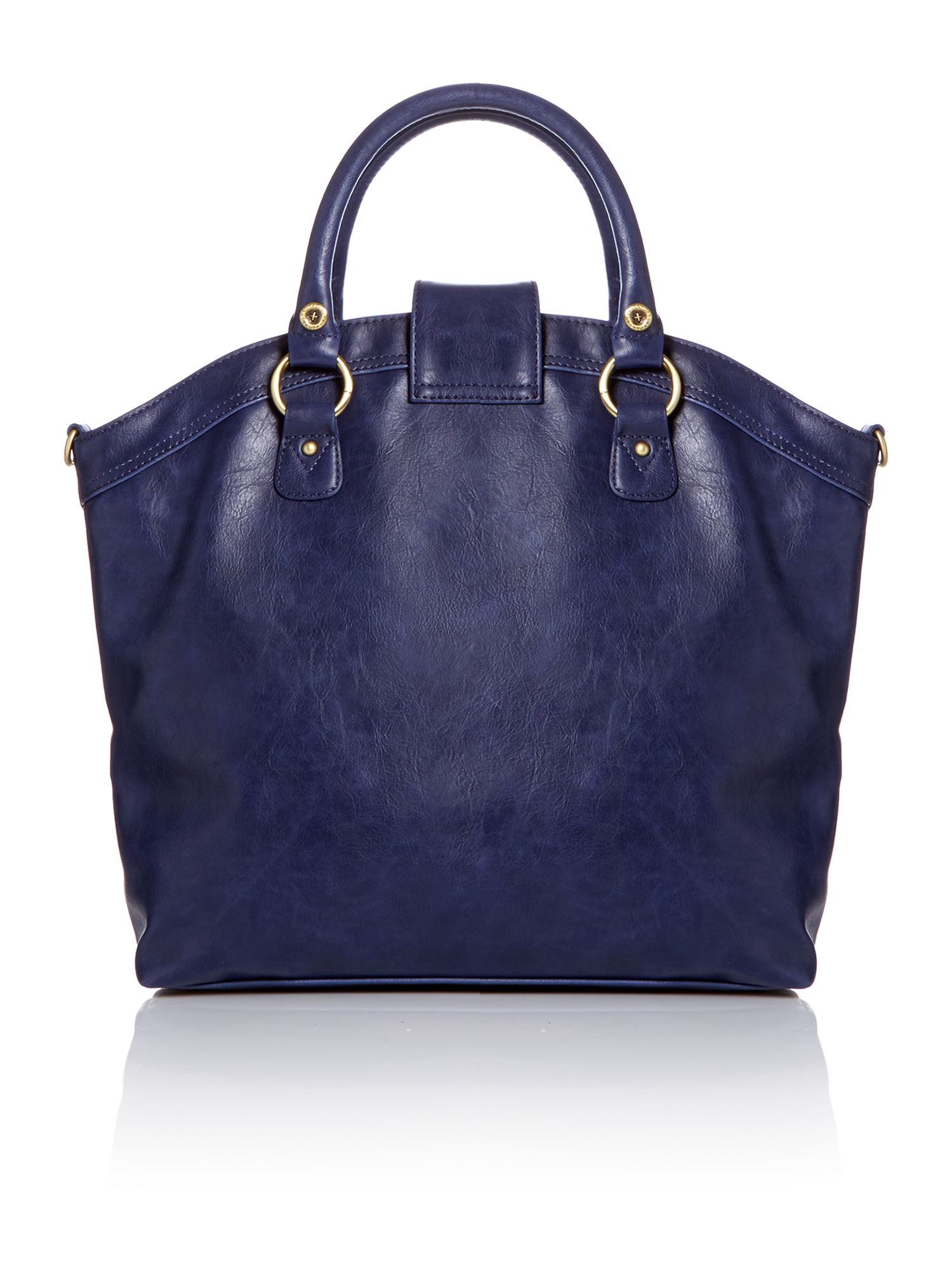 Jonah blue large tote bag