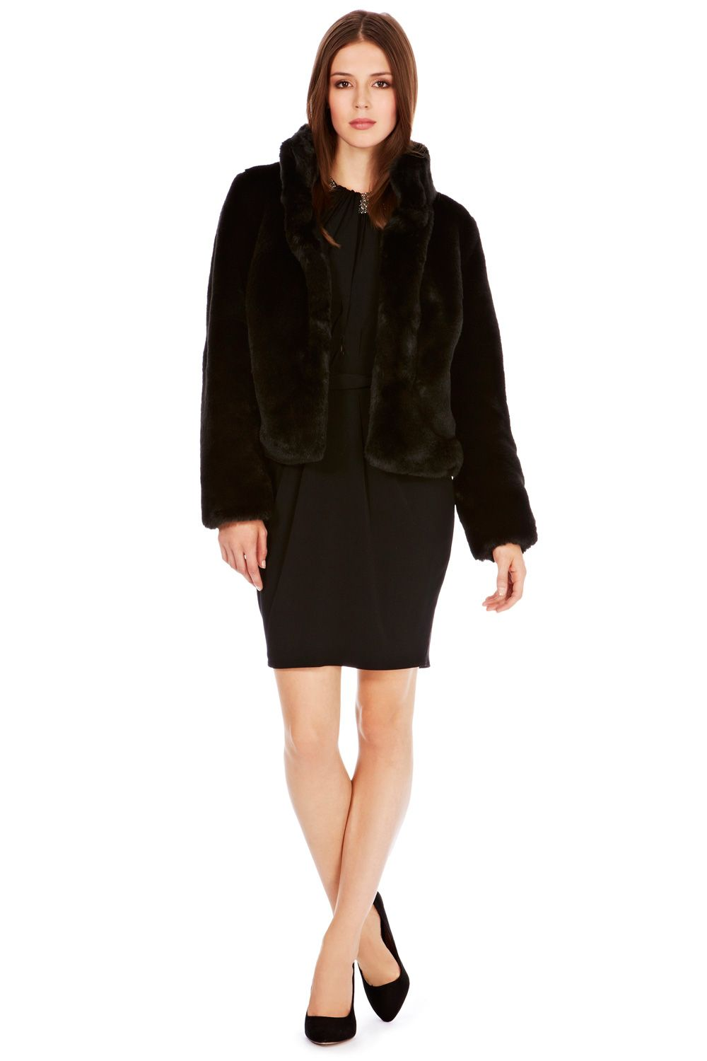 Alfine faux fur jacket