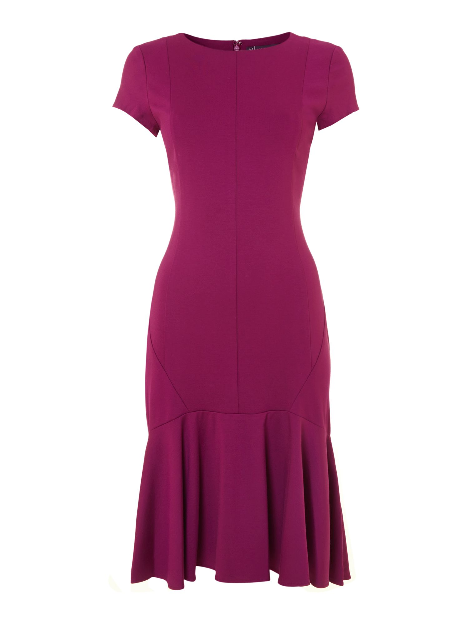 Adrianna Papell Drop Waist Peplum Dress $35.00 AT vintagedancer.com