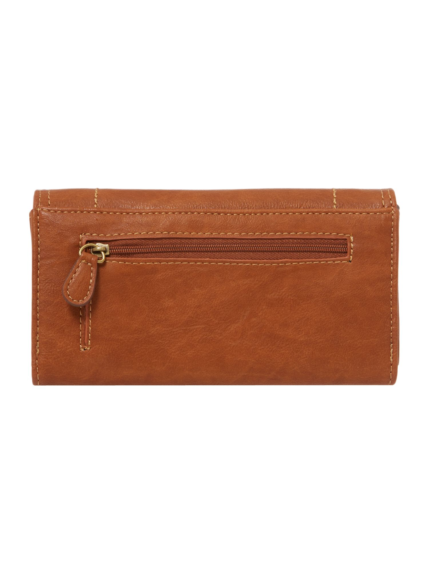 Judy tan large flap over purse