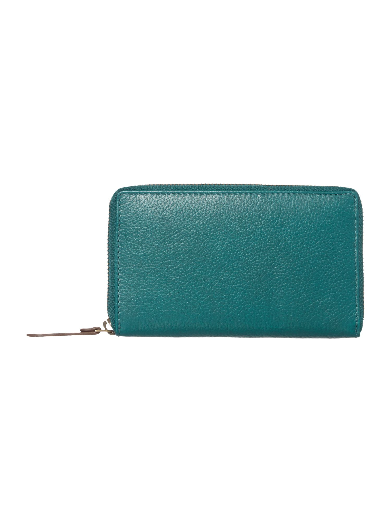 Nikki blue large zip around purse