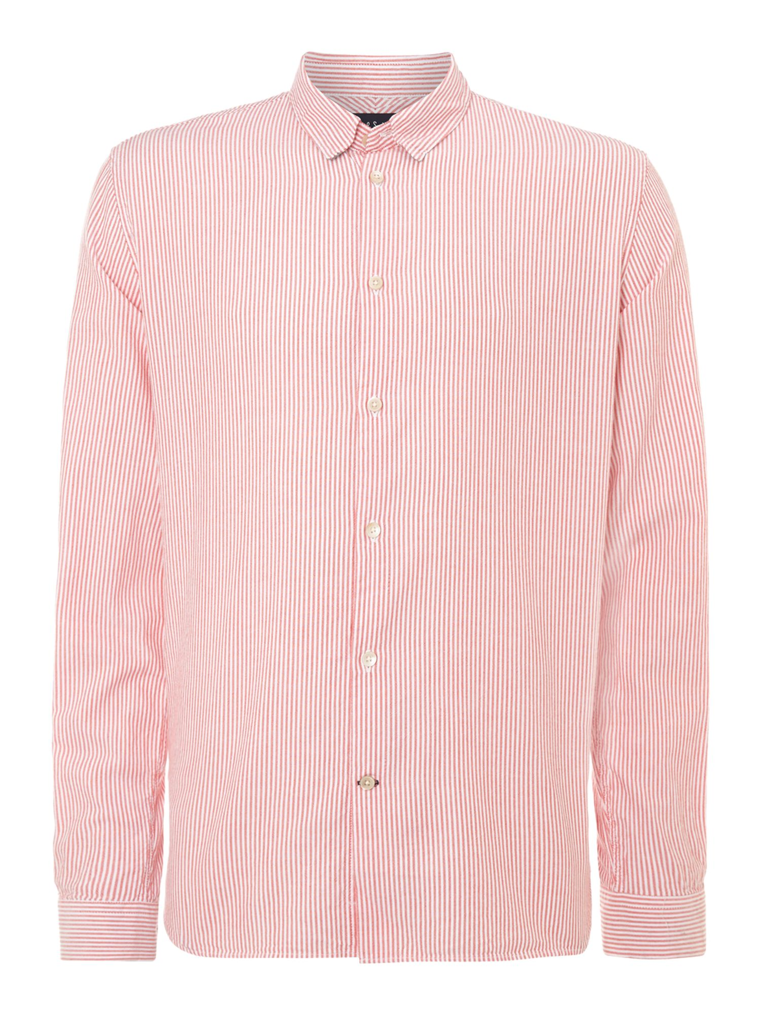 Long sleeved stripe shirt