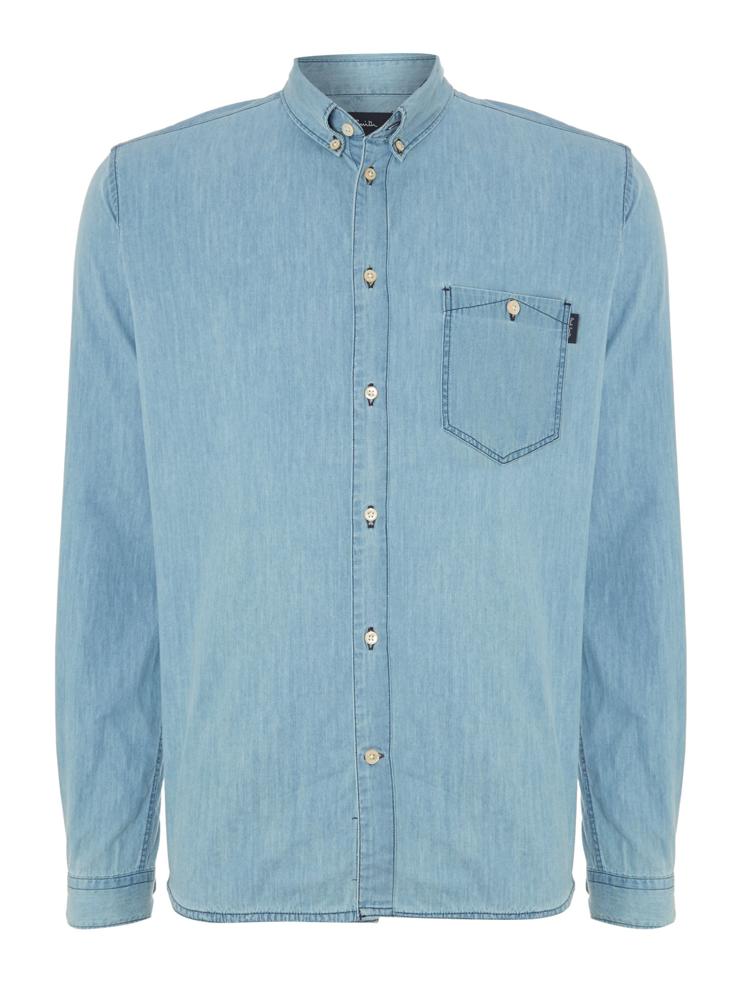 Denim wash shirt