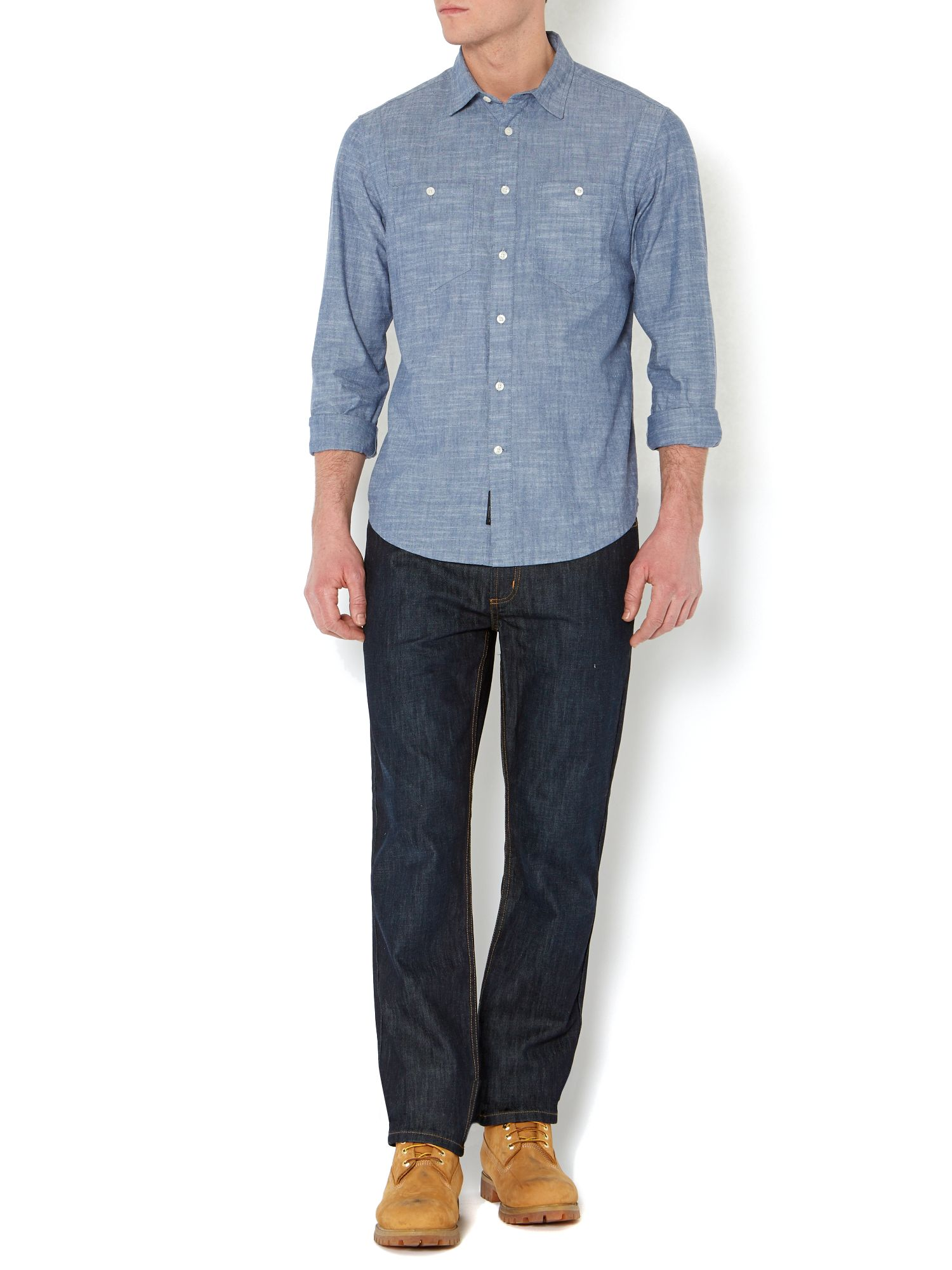 Landon chambray shirt