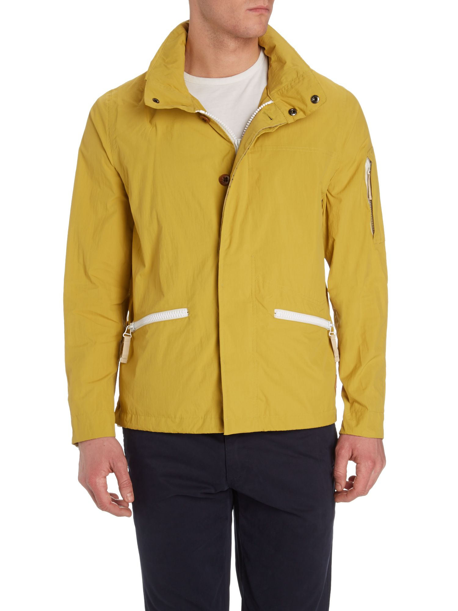Zip up waterproof jacket