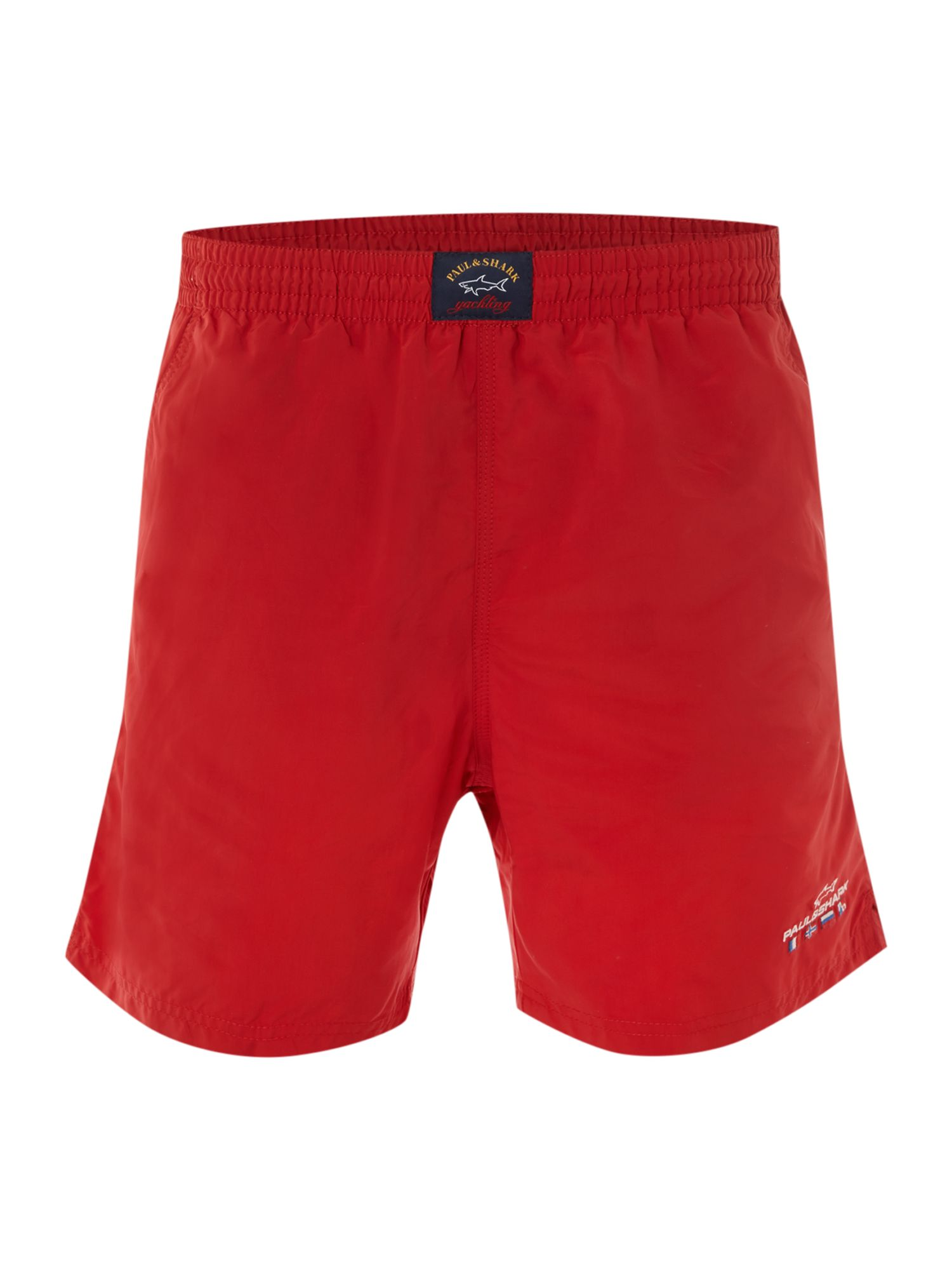 Straight-fit swim shorts