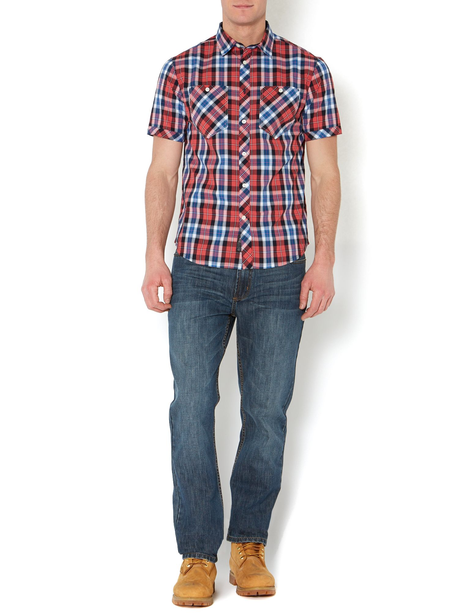 Edmonds check shirt