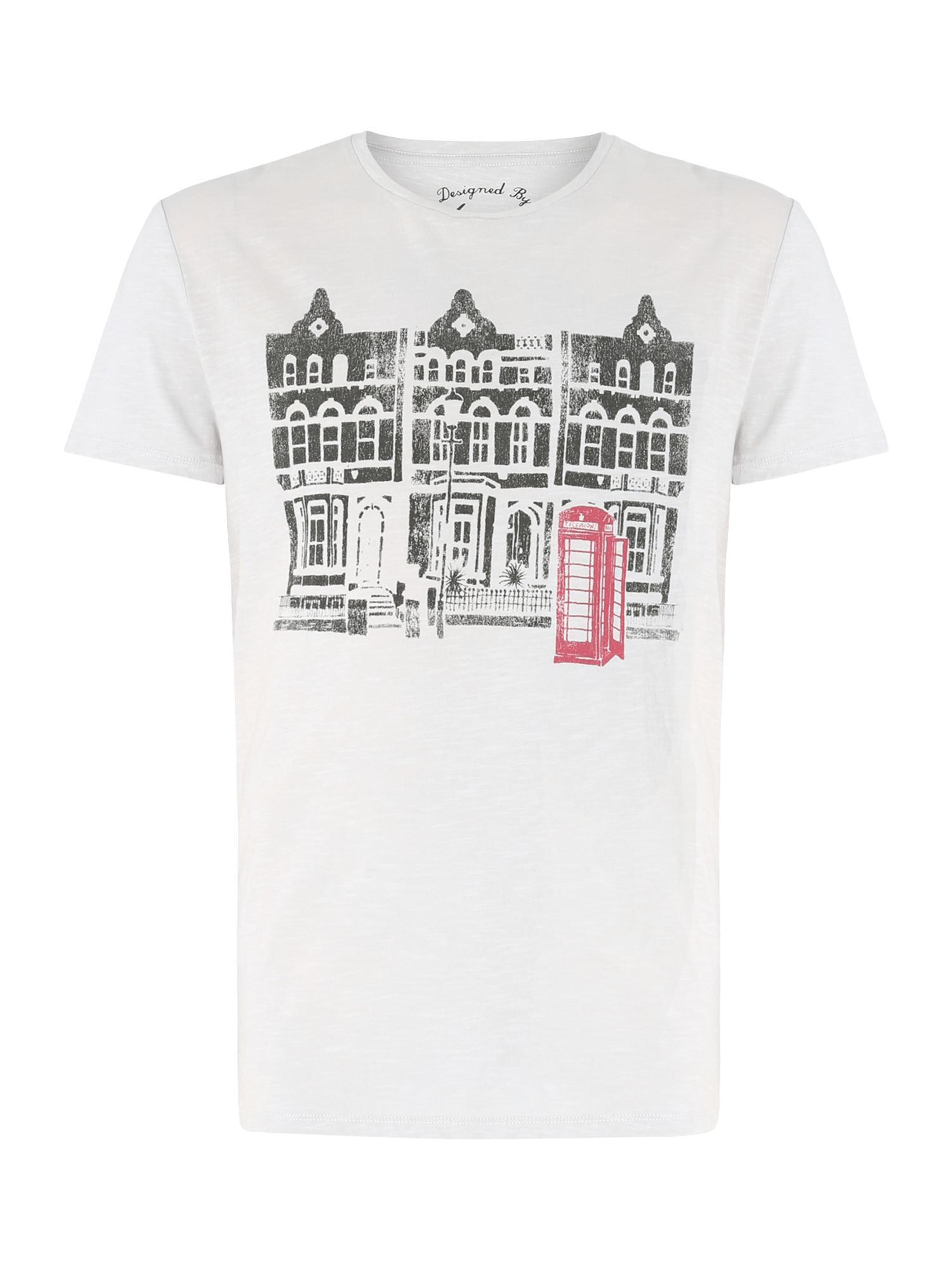 houses graphic tee