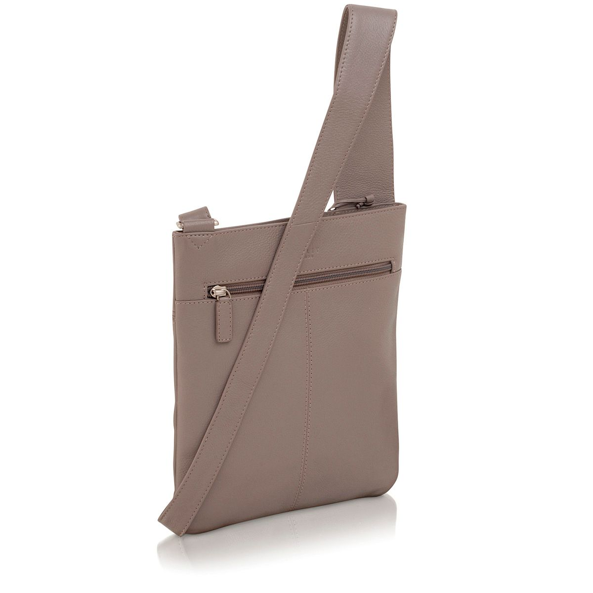 Finch grey medium crossbody bag