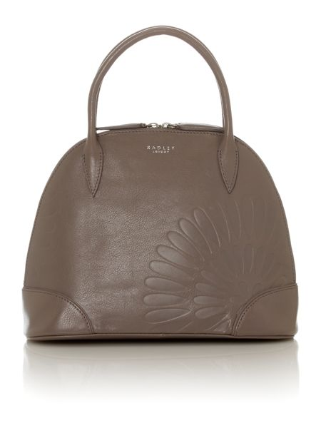 Radley Finch grey small leather tote bag