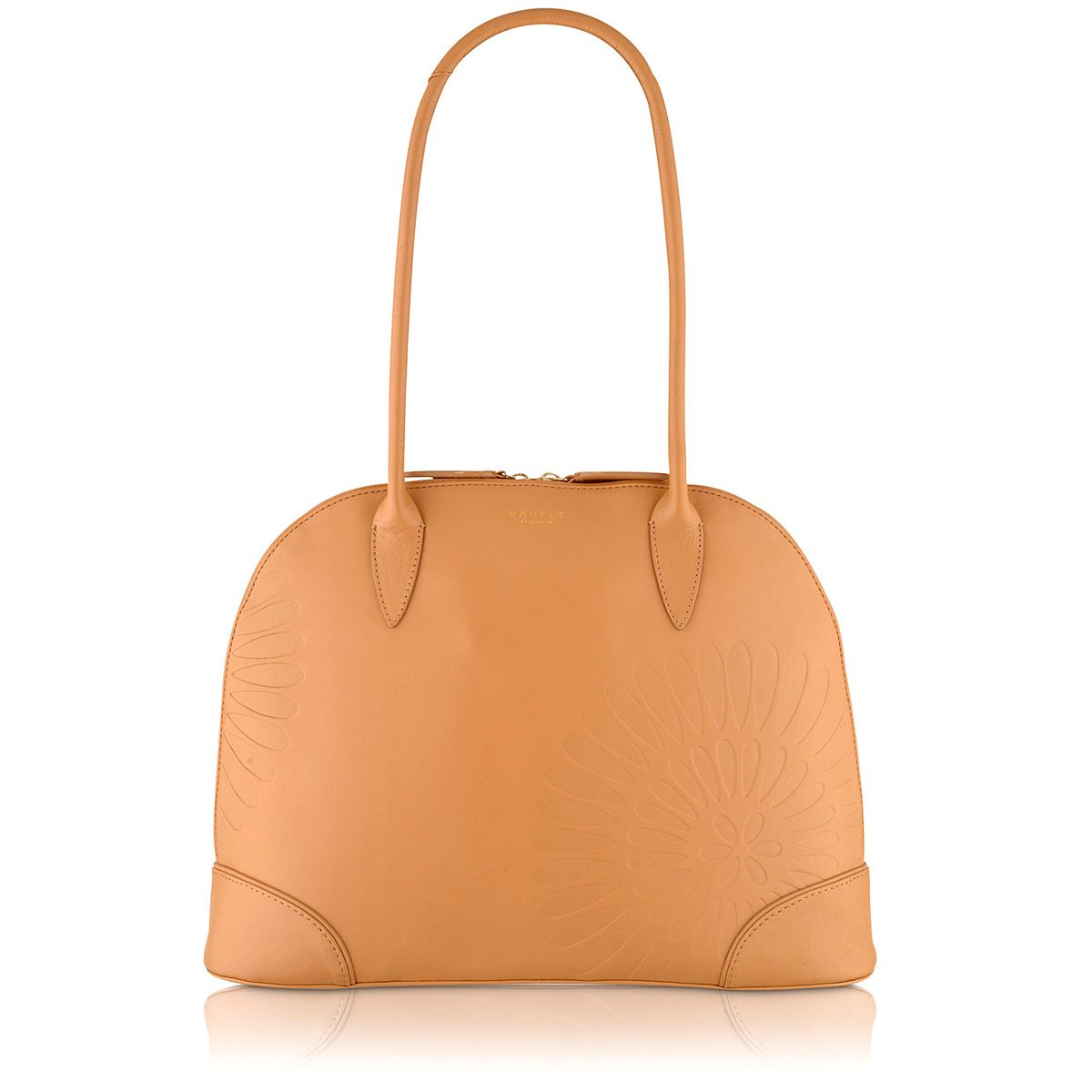 Finch tan medium shoulder bag