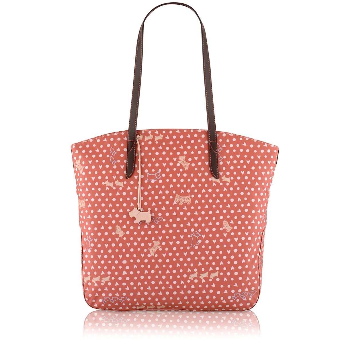Hibbert pink large tote bag