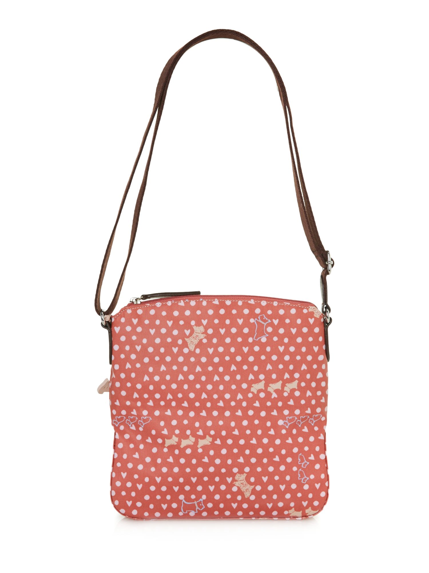 Hibbert pink medium crossbody bag