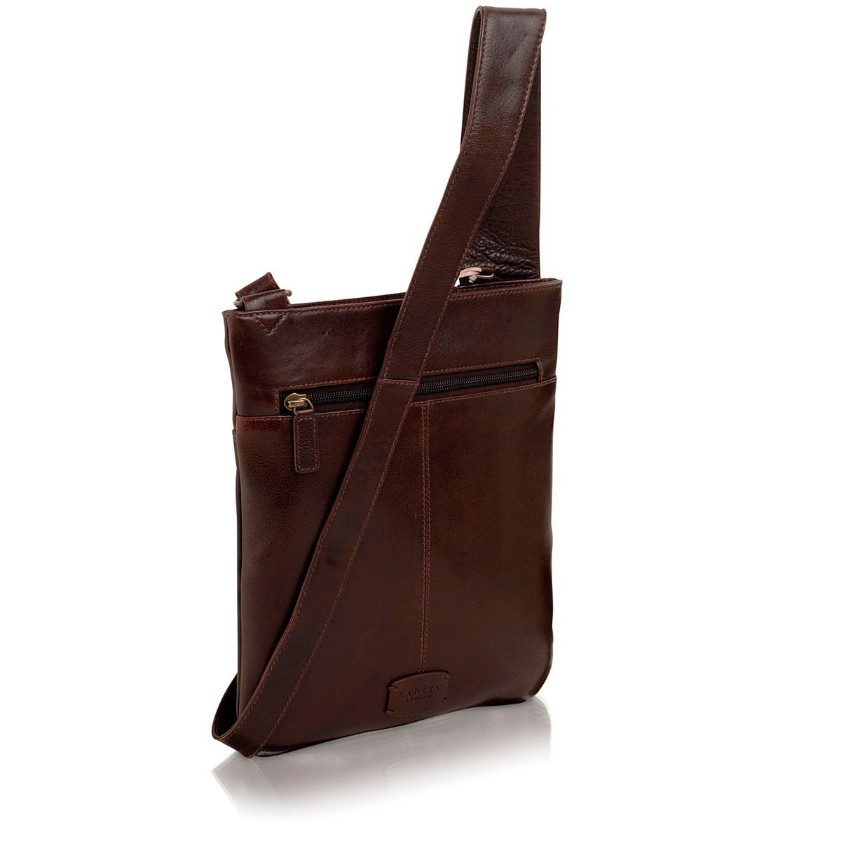 Brown medium pocket bag