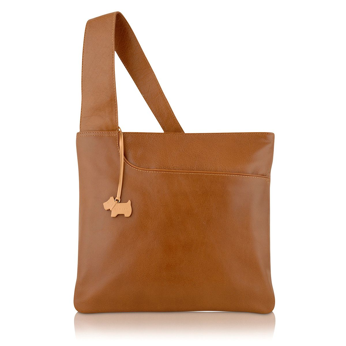 Tan large pocket bag