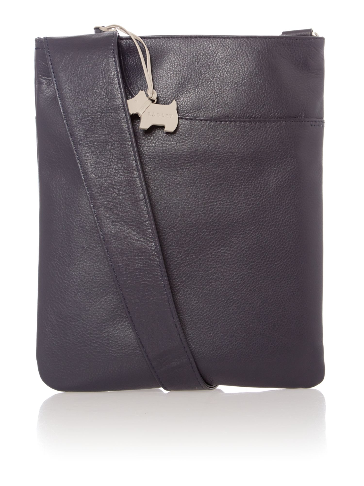 Navy medium pocket bag