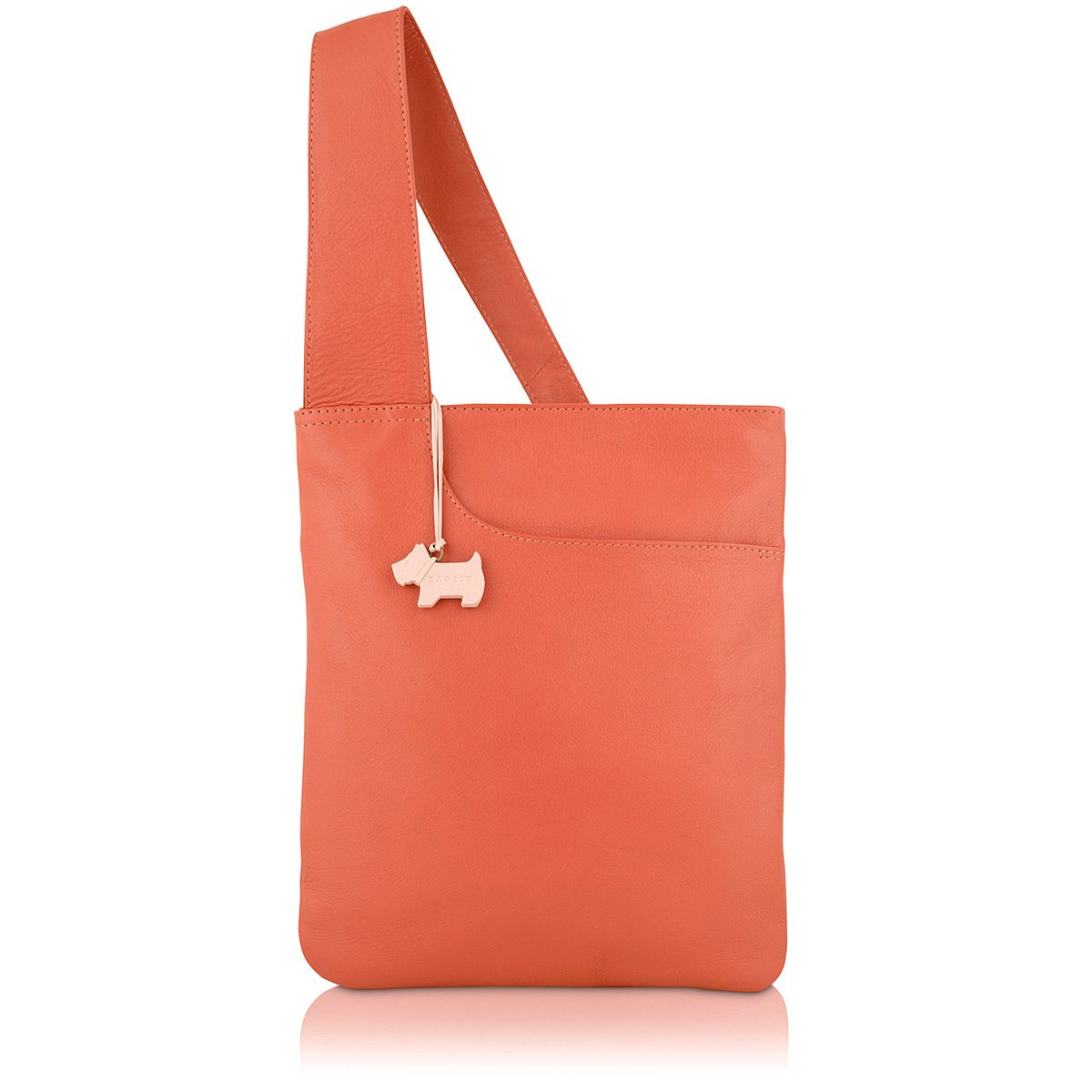 Pink medium pocket bag