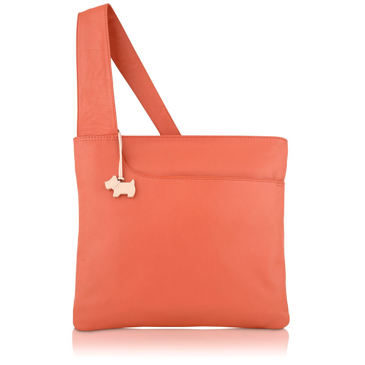 Pink large pocket bag