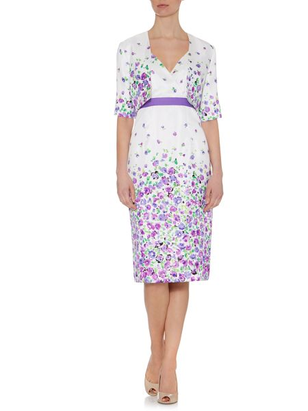 Shubette Meadow Print Dress and Jacket