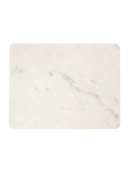 Casa Couture Casa white marble placemat set 2