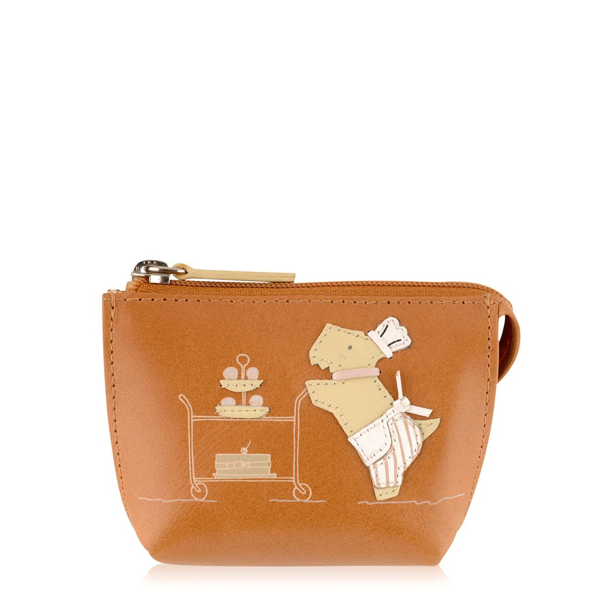 Patisserie Raderlie tan coin purse