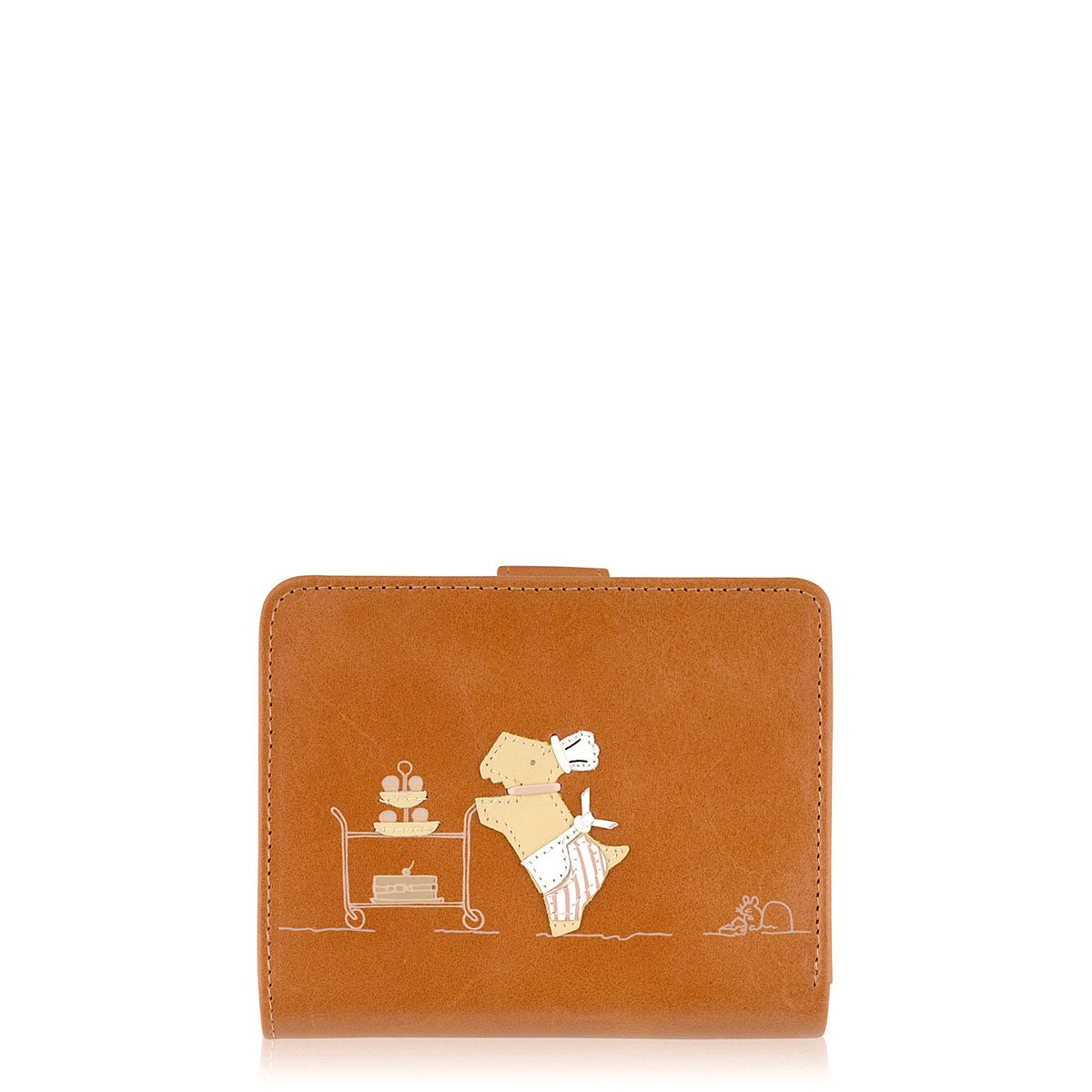 Patisserie Raderlie medium tan flapover purse