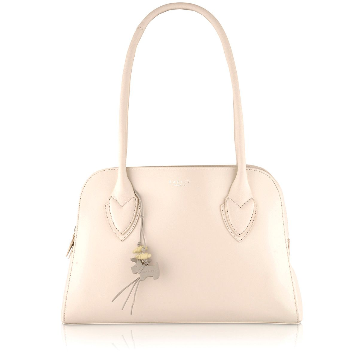 Aldgate cream medium leather shoulder bag