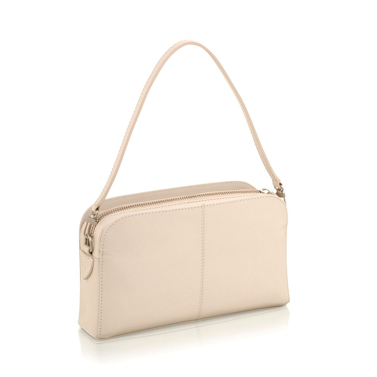 Aldgate cream mini leather shoulder bag