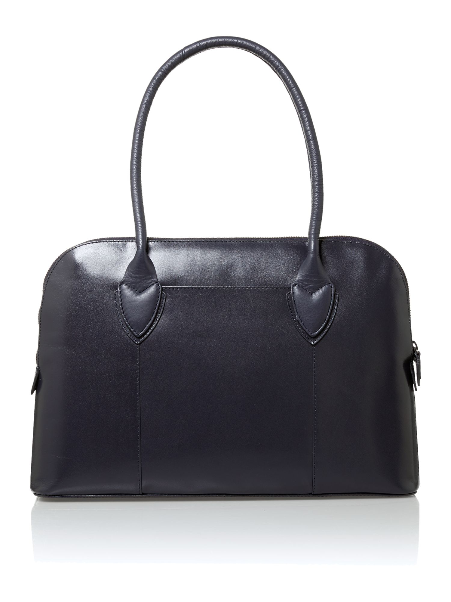 Aldgate fig navy large tote bag