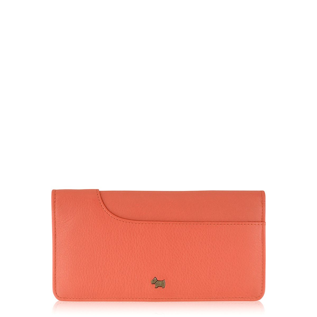 Pocket bag coral large flap over purse