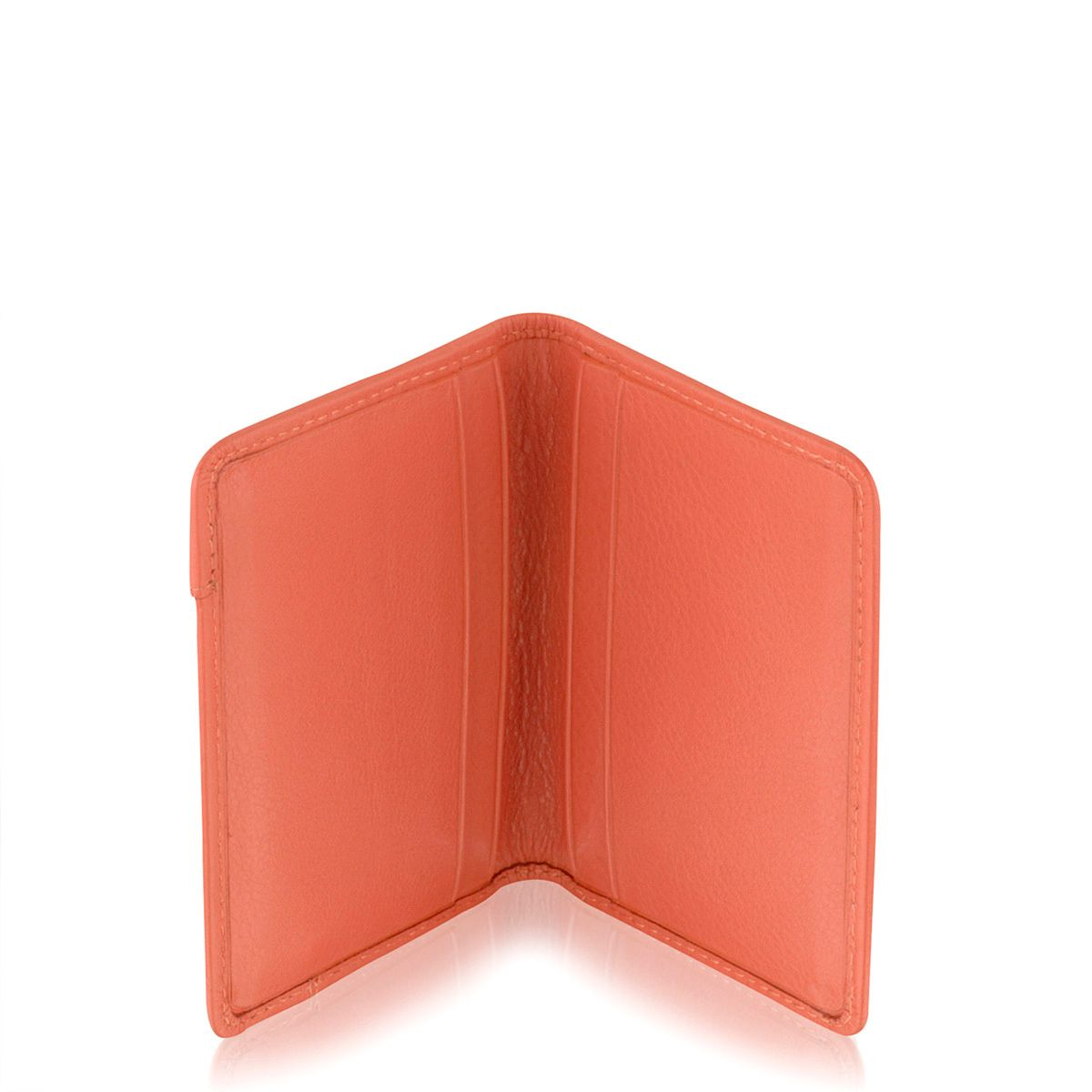 Pocket bag small coral cardholder