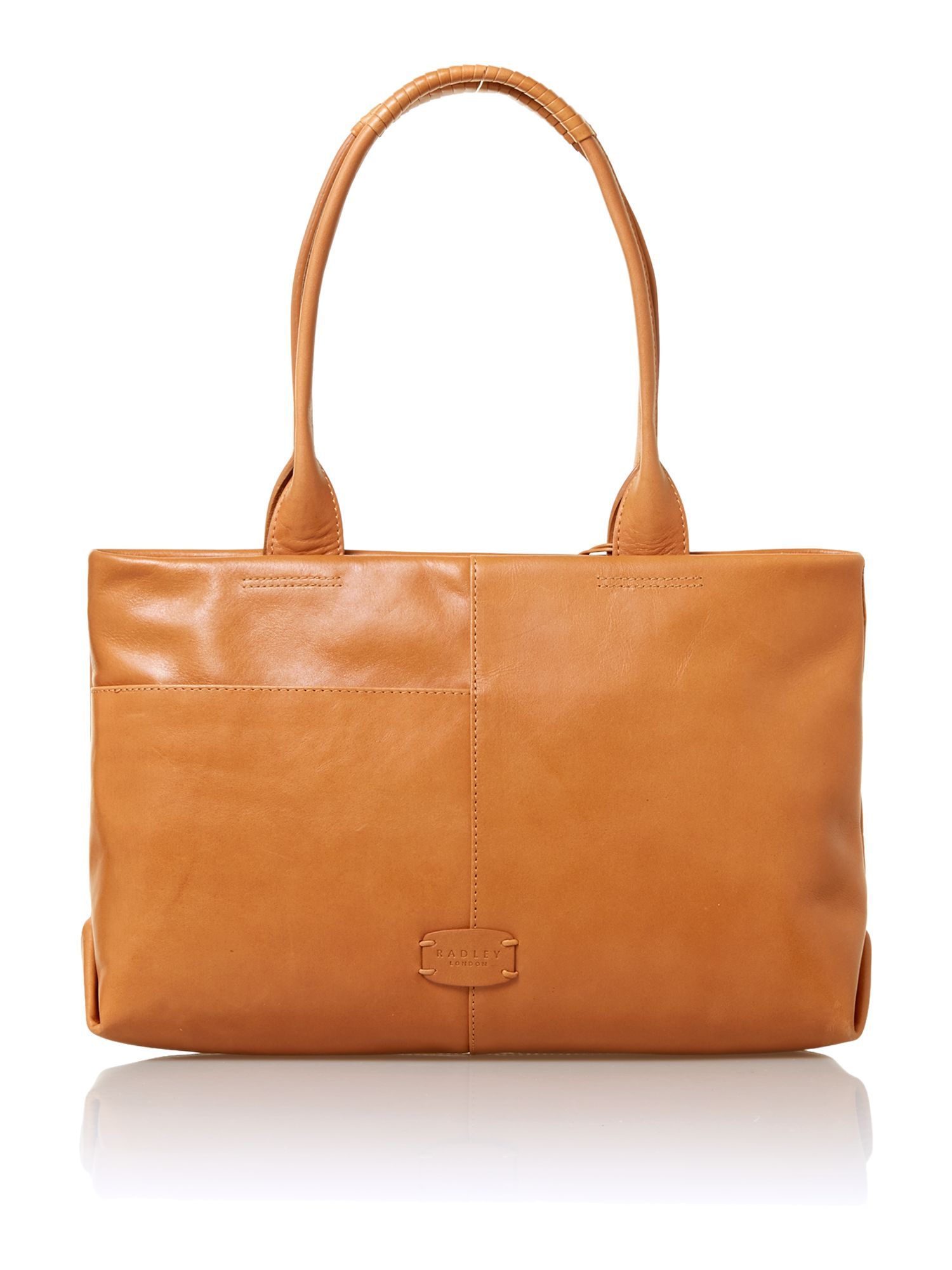 Bayford medium leather tan tote bag