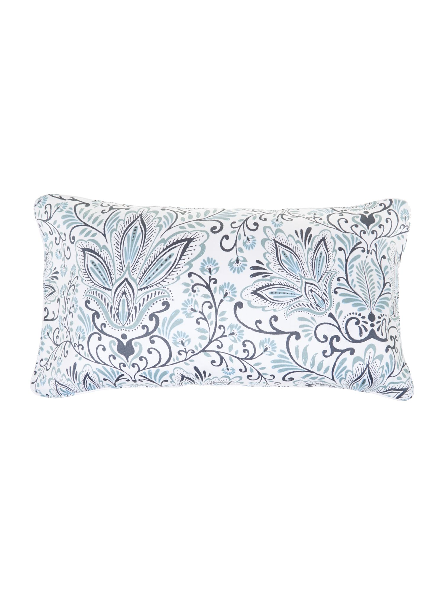 Lucknow paisley cushion