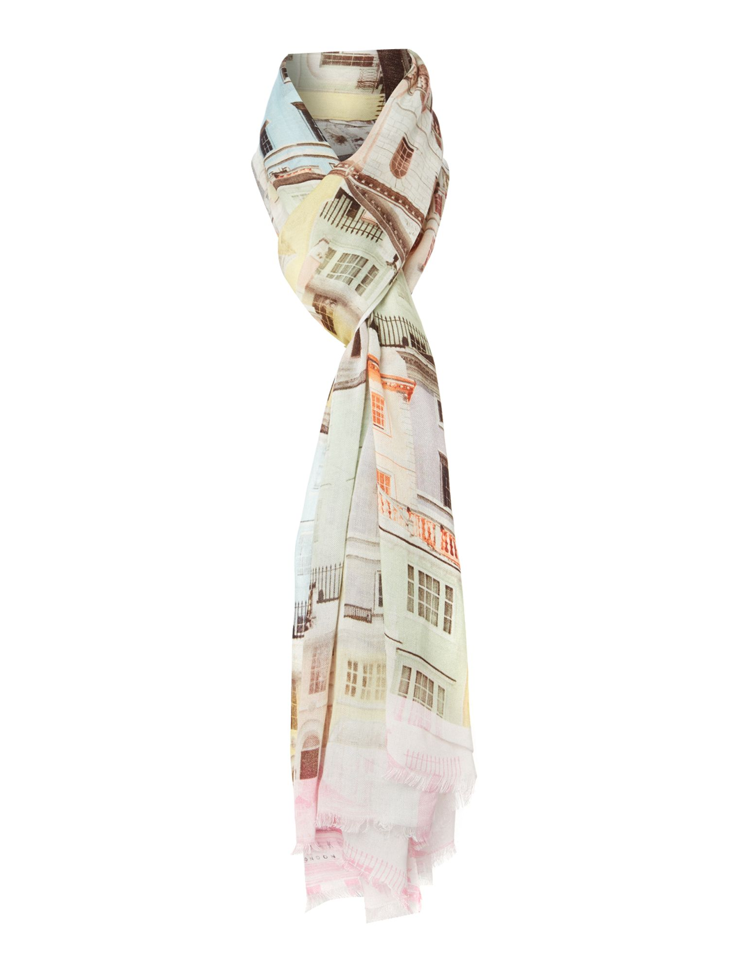Regency houses long scarf