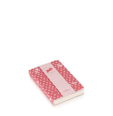Pink Hibbert A6 notebook