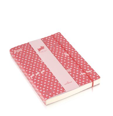 Pink Hibbert A5 notebook