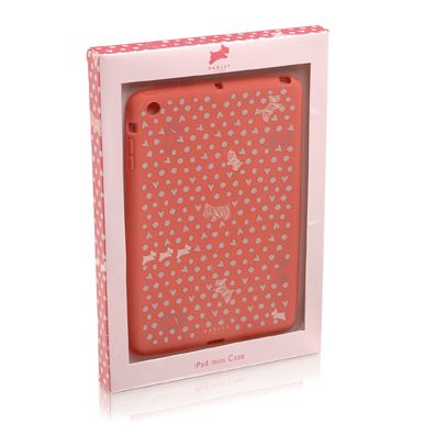 Pink Hibbert ipad mini cover