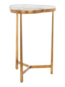 Winchester cloverleaf lamp table