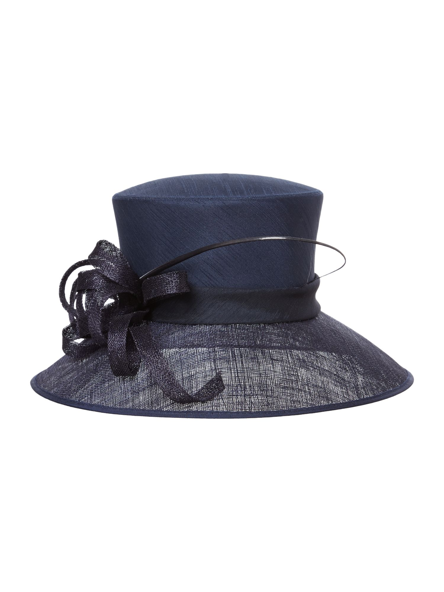 Earl shantung crown small brim hat