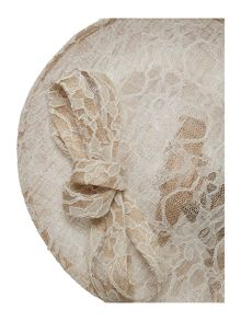Untold Warwick lace covered saucer