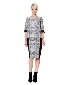 Stevie Jacquard Pencil Skirt