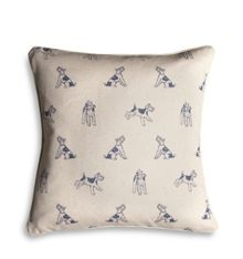 Natural Bertie print cushion