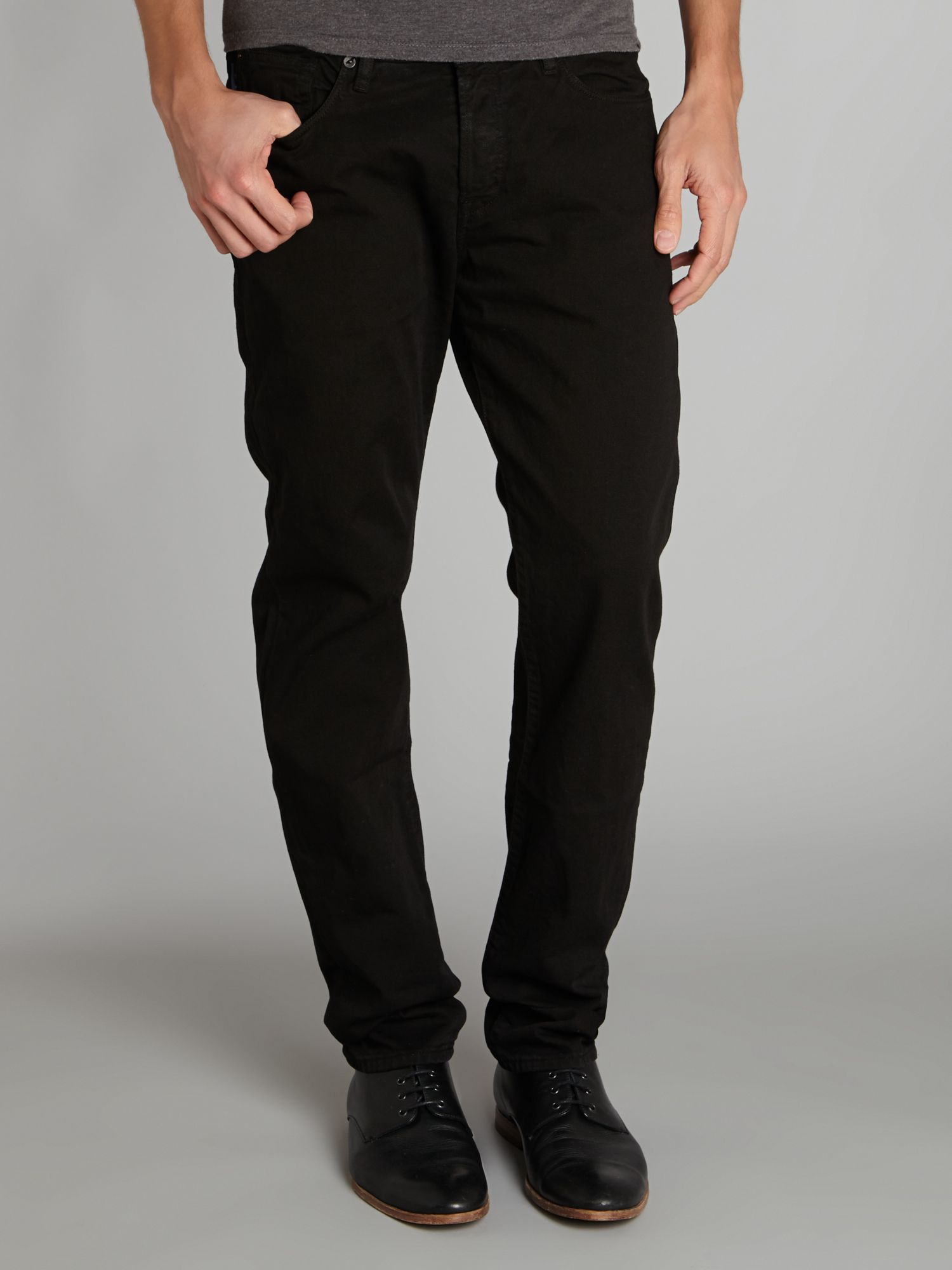 Five pocket twill trouser