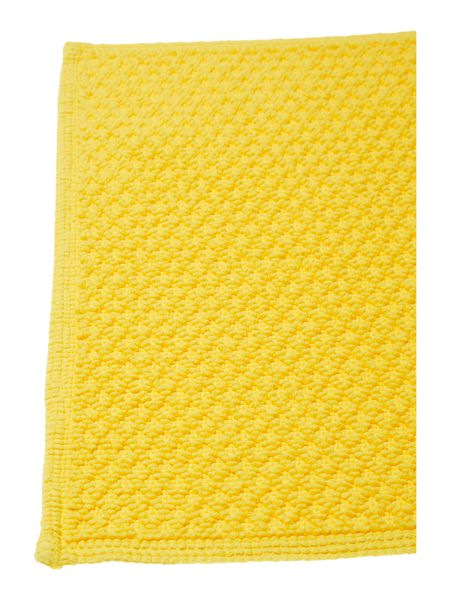 Linea Reversible Bobble Bath Mat in Sunshine