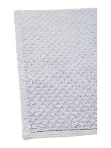 Linea Cotton bobble reversible bathmat heather