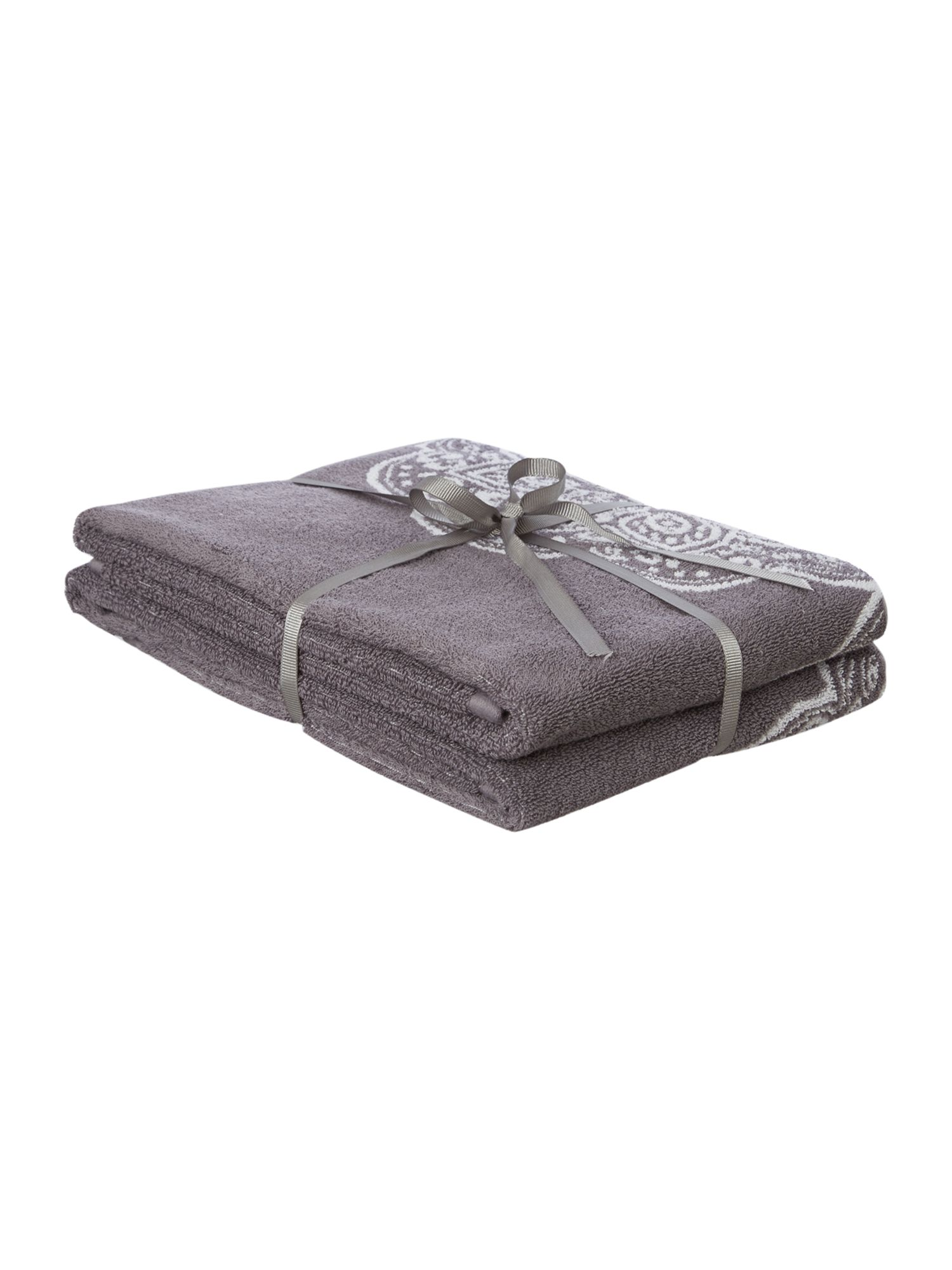 Serenity pack of 2 hand towels